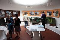 Camel Museum in Timanfaya National Park, Montañas del Fuego volcanoes, Lanzarote, Canary Islands, Spain, Europe