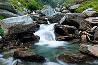Bhagsu waterfall, Bhagsu, Himachal Pradesh, India