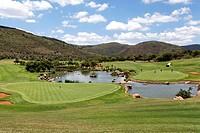 Sun City golf course, Johannesburg, South Africa