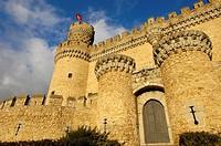 Castle of Manzanares el Real, Madrid, Spain, Europe