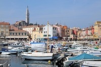 Port of Rovinj, Croatia, Europe