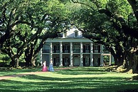Oak Alley Plantation, Vacherie, Louisiana, United States of America, Americas