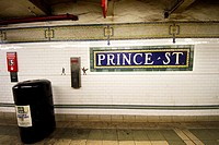 Prince Street subway station, New York City