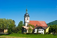 Parish Church of St. Laurence, Gaggenau, Bad Rotenfels, Black Forest, bathen-Wuerttemberg, Germany, Europe