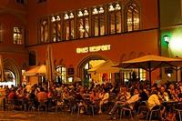 Restaurant Haus Heuport, Regensburg, Upper Palatinate, Bavaria, Germany