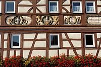 Nordheim vor der Rhoen, Franconia, Bavaria, Germany