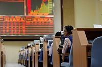 Trading floor of the Vietnamese stock market, Ho Chi Minh City Stock Exchange, Vietnam, Southeast Asia