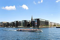 Modern architecture in the Christianshaven district, Copenhagen, Denmark, Scandinavia, Northern Europe, Europe