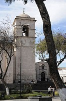 San Francisco church, Arequipa, Inca settlement, Quechua settlement, Peru, South America, Latin America