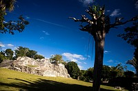 Konhunlic archaeological site, Yucatan, Mexico
