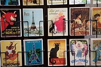 Europe, France, Paris, Postcards, Moulin Rouge, Eiffel Tower, Sacre Coeur, Notre Dame, Souvenirs, Tourism, Travel, Holiday, Vacation