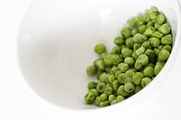 Peas in a bowl