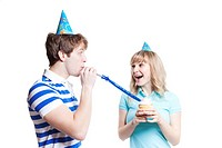 A shot of a girl celebrating her birthday with her boyfriend