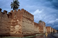 The ramparts of Taroudant, Morocco