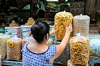 Vietnam, Saigon Ho Chi Minh City, Cholon Market.