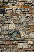 Fildstone wall detail