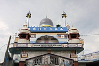 The Lechra Bazaar Baitun Noor Jame Mosque It was built in 2008 Harirampur, Manikgonj, Bangladesh September 19, 2008