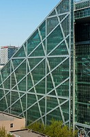Parkview by arch  Winston Shu, best green building in China, LEED Platinum certified, 2010, CBD, Beijing, China, Asia