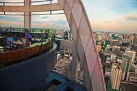 Centara Grand Hotel al Central World Bangkok Tower  Bar Red Sky, an unforgetable outdoor roof top venue with impressive views across the city skyline ...