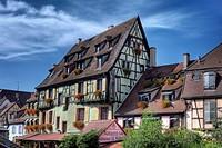´Little Venice´, Colmar, Haut-Rhin department, Alsace, France