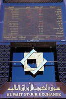 Kuwait, Kuwait City, Stock Exchange.