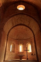 The abbey of Thoronet, Le Thoronet, Var, Provence-Alpes-C&#244;te d'Azur, France