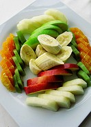 Fresh Fruit Salad, Istanbul, Turkey