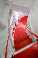 lighthouse's staircase, Lindesnes, Norway