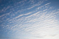 USA, Massachusetts, alto cumulus clouds