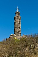Lord Nelsons Monument CALTON HILL EDINBURGH Nelsons memorial Calton Hill