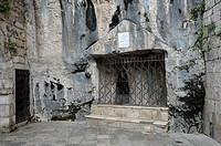 France, Lot, Rocamadour  Place where found St  Amadour's incorrupt body in 1166