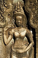 Southeast Asia, Cambodia, Siem Reap Province, Angkor site, Unesco world heritage since 1992, Ta Prohm temple builded in 1186 by the king Jayavarman VI...