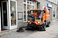 Street cleaning in Berlin