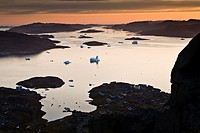 The fjord outside Narsaq, South Greenland