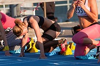 Athletics with spex elements young people 18 year, Sweden