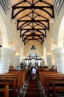 St  James Anglican Church Interior Bridgetown Barbados Caribbean Cruise NCL