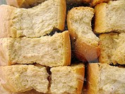 Greek Cuisine  A packet of Paximadia, Dried Bread Rusks