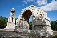 Glanum was a Roman town in the Roman province of Gallia Narbonensis, in today´s southern France. The monuments at the site include an impressive Trium...