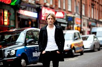 Young Man in London Street