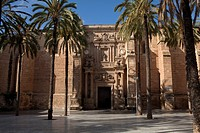 Front door of the Cathedral of Almeria  By Juan de Ortea in century XVI  Renaissance art