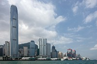 Skyline, Victoria Harbour, Hong Kong, China