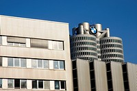BMW car factory in Munich