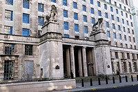 The Ministry of Defence Building, Horse Guards Avenue, off Whitehall, London, England, UK