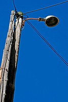 streetlight, Angles, Girona, Catalonia, Spain