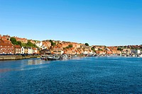England, North Yorkshire, Whitby, general view