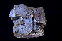 Galena PbS - lead sulfide - Sweetwater Mine - Reynolds County - Missouri - USA - The primary ore of lead