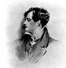 George Gordon Byron, Lord Byron. Engraved by H. Meyer, from an original drawing by G.H. Harlow