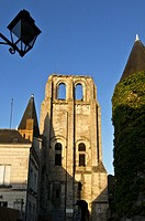 France, Indre et Loire, Cormery, old city
