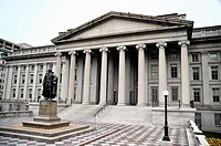 US Treasury Department Building, Washington, DC