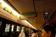 underground station, Hongkong, China